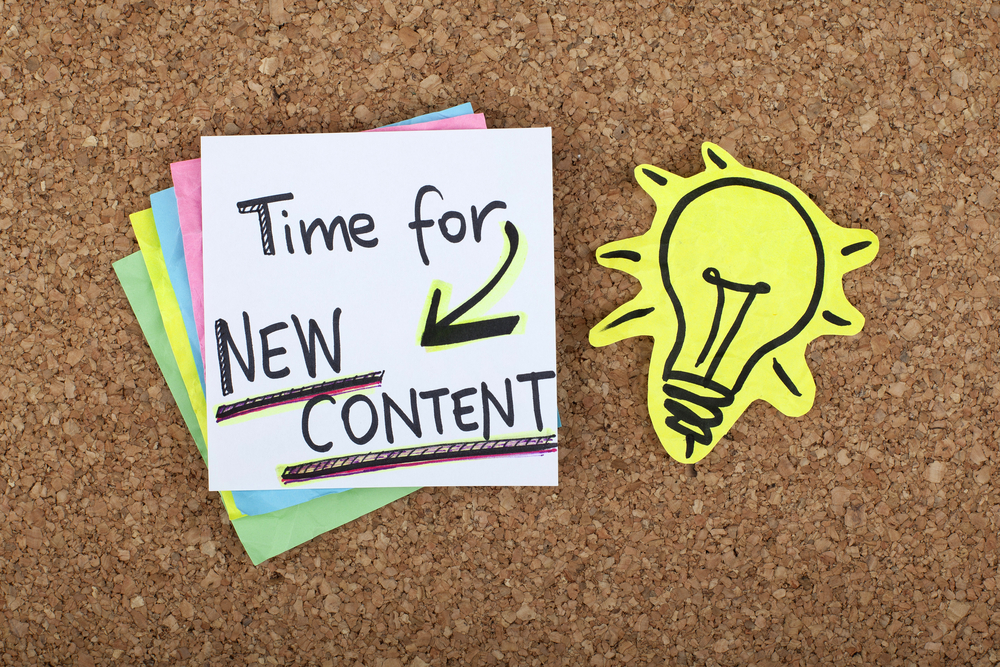 3 crucial tactics to keep your content marketing fresh content 3 crucial tactics to keep your content marketing fresh malvernweather Image collections